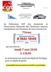 2018 05 08  affiche ceremonie du 8 mai