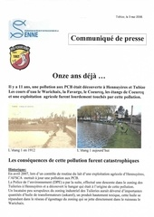 pollution pcb tribunal communique de presse