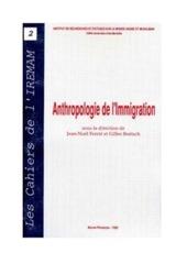 anthropolgie de l immigration
