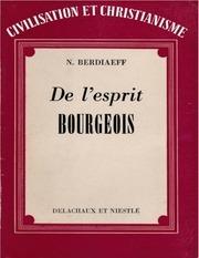 Fichier PDF deespritbourgeois