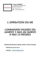 l operation du we