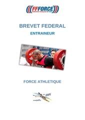 plaquette brevet federal entraineur normal