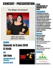 Fichier PDF the magic armenians concert yerevan at saf club 090618