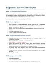 reglementopenfloat tuberoanne et region