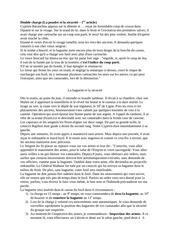 Fichier PDF consignes de securite