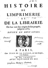 Fichier PDF histoire de limprimerie et de la librairie 1689