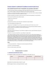 examen hugo 2014  casablanca