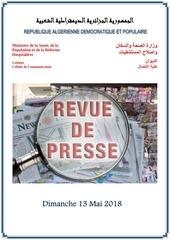 Fichier PDF revue de presse 13 05 20182