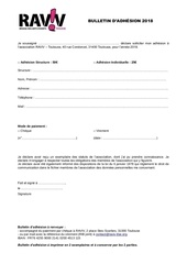 Fichier PDF bulletin dadhesion 2018