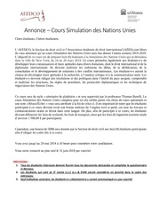 annonce nmun ny 2018 2019