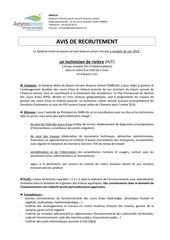 Fichier PDF avisrecrutementtechnicienrieresmbv2a 1