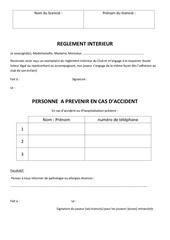 attestation reglement et personne a prevenir 1