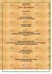 Fichier PDF menu fetes des meres