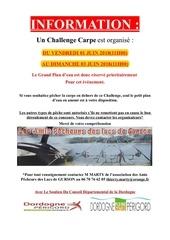 affiche information challenge juin 2018