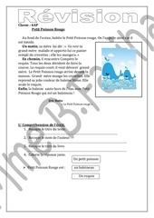 Fichier PDF petit poisson rouge