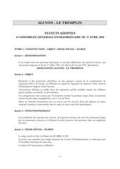 statuts alcyon   le tremplin adoptes le 17 avril 2018
