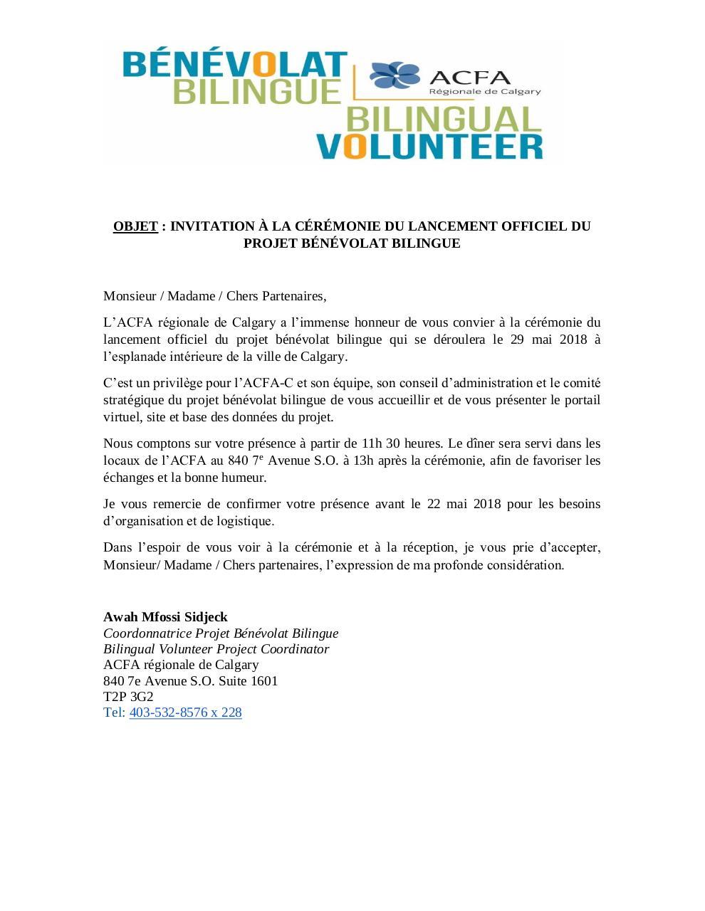 Invitation Lancement 1 Par Coordonnateur2 Fichier Pdf