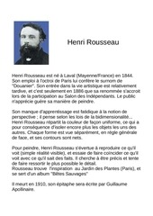 Fichier PDF henri rousseau