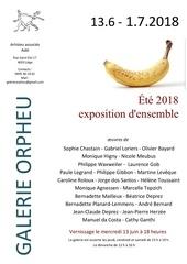affiche collective ete 2018