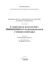 audit fiscal dans les pme
