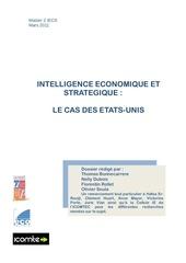 intelligence economique aux usa