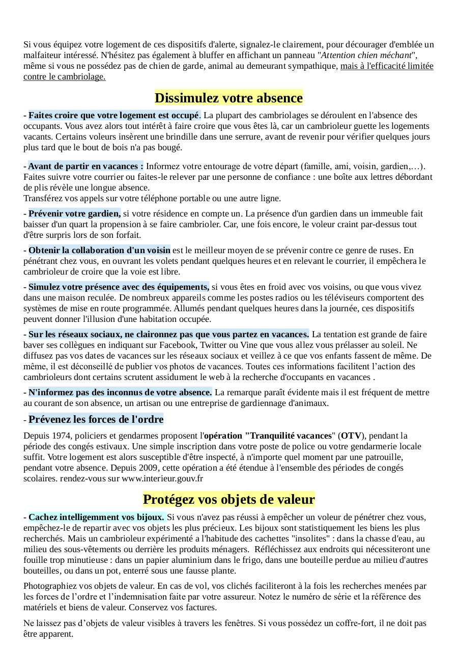 Aperçu du document PREVENTION MALVEILLANCE.pdf - page 2/3