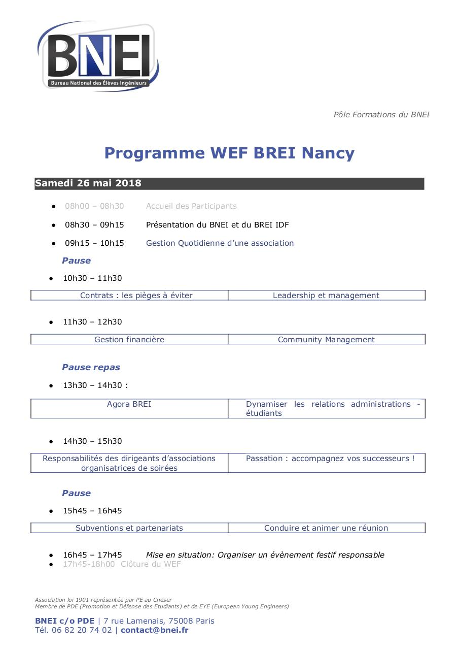 Aperçu du document BNEI - Formations - Programme - WEF Nancy_20180609 (1).pdf - page 1/1