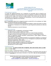 offre emploi stagiaireveranosaguenay2018
