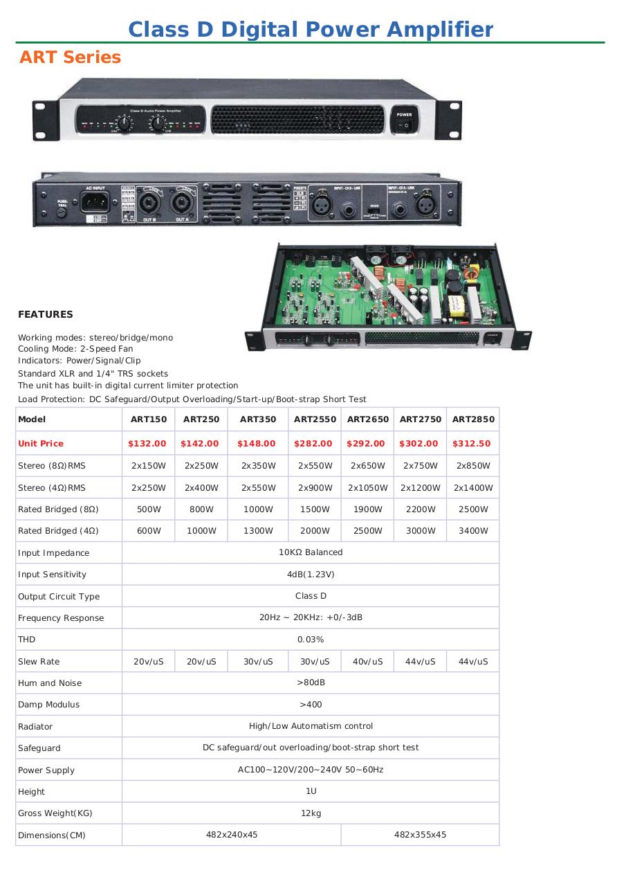 2018naphon Power Amplifierxls Par Administrator Naphon 315 W Class D Amplifier Circuit Design 2018pdf Page 2 30