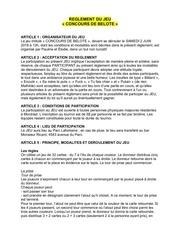 reglement du jeubelote 2 juin 1
