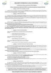reglement bal   2018