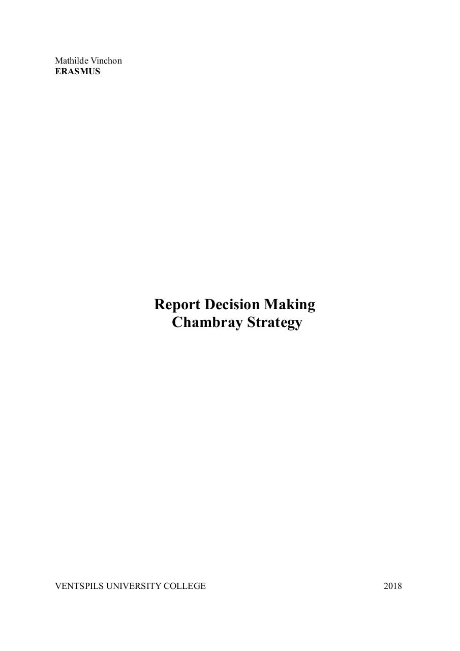 Report decision making.pdf - page 1/7