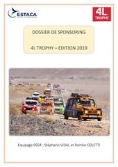 Fichier PDF sponsoring 4l trophy