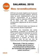 revendications salariales 2018 tract 2018 05 09
