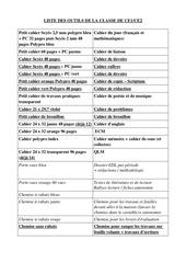 Fichier PDF liste outils ce1 ce2
