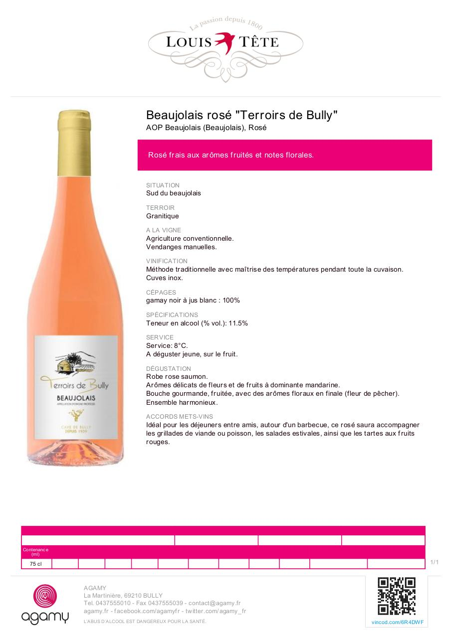 Aperçu du document FT BJS ROSE TERROIRS BULLY.pdf - page 1/1