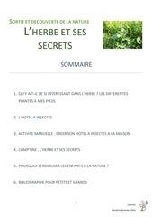 Fichier PDF sortie et decouverte de la nature