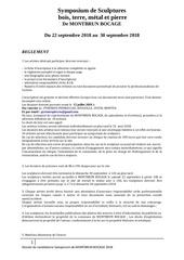 reglement dossier candidature symposium 2018