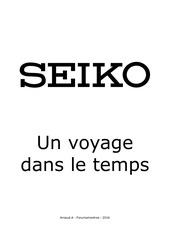 condense des articles seiko v11
