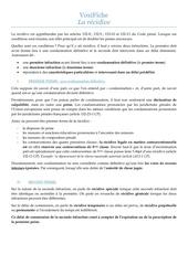 Fichier PDF recidive