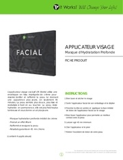 facial applicateur visage 1