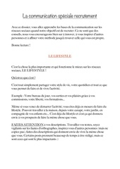 Fichier PDF la communication recrutement