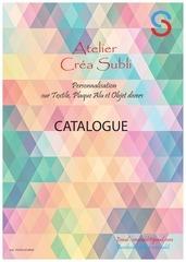 catalogue atelier crea subli