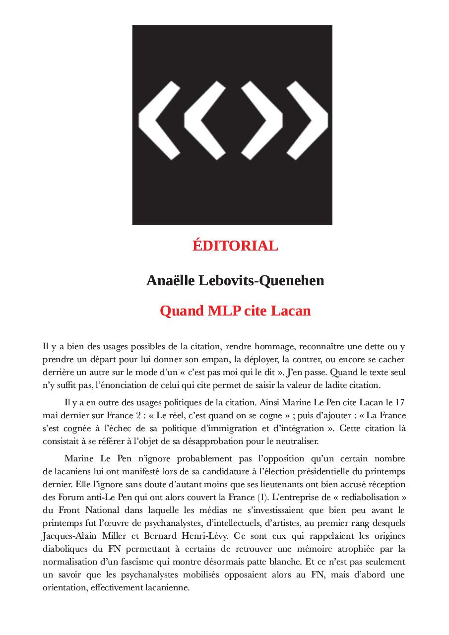 Aperçu du document Quand MLP cite Lacan.pdf - page 1/3