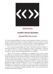 Fichier PDF quand mlp cite lacan