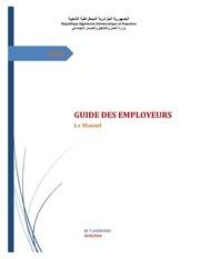 guide employeurs  manuel de recrutement