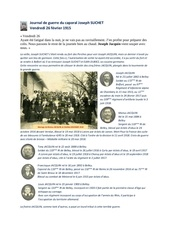journal de guerre joseph suchet vendredi 26 fevrier 1915
