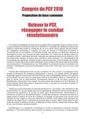 texte pcf 2018   relever le pcf