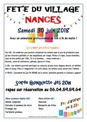 Fichier PDF tract 2018 fete du village