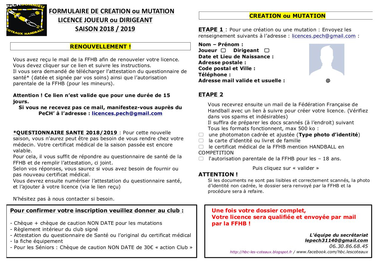Aperçu du document DOSSIER INSCRIPTION PECH 2018 2019.pdf - page 1/7